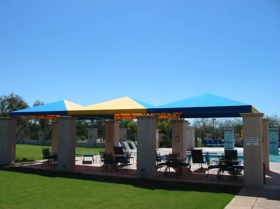 Sunflower Community at Continental Ranch - Pool Canopies