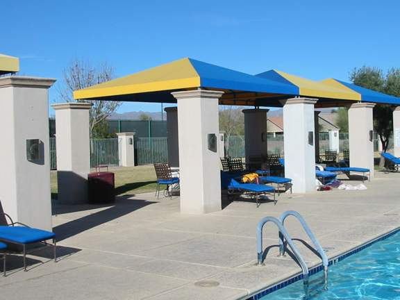 Sunflower Community at Continental Ranch - Tent Style Pool Canopies