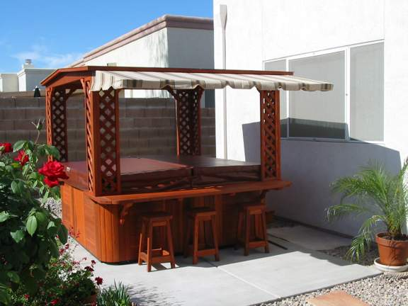 Hot Tub Extension Awning